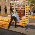 Opbouw Kaasmarkt